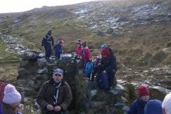 Cub Scouts Hike Jan 2015