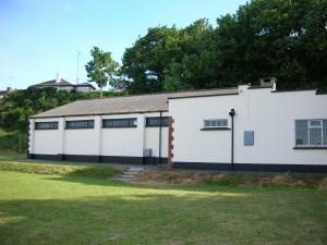 Side shot of the Den Building