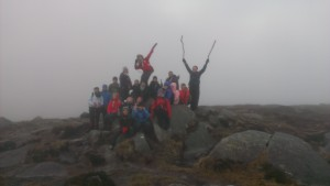 Summit Camonderry 25 Nov 2013