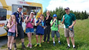 Chief Scout Hike 22-Jun-2014