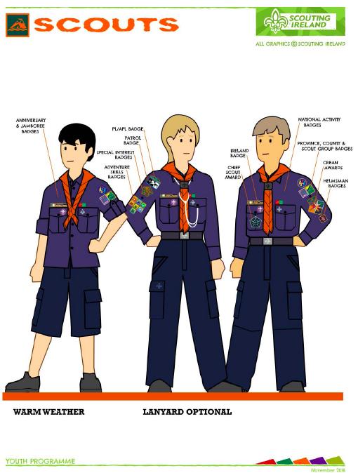 SI Scout Uniform